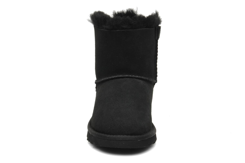 Bottes UGG Mini Bailey Bow Noir vue portées chaussures