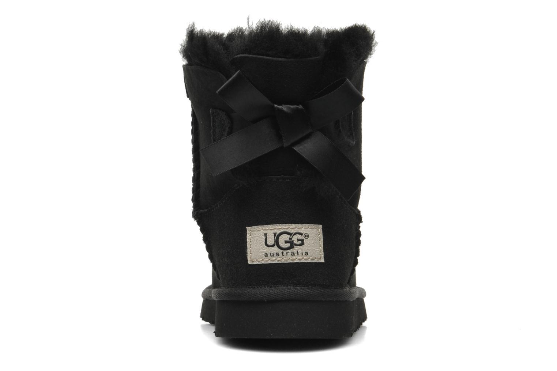 Bottes UGG Mini Bailey Bow Noir vue droite