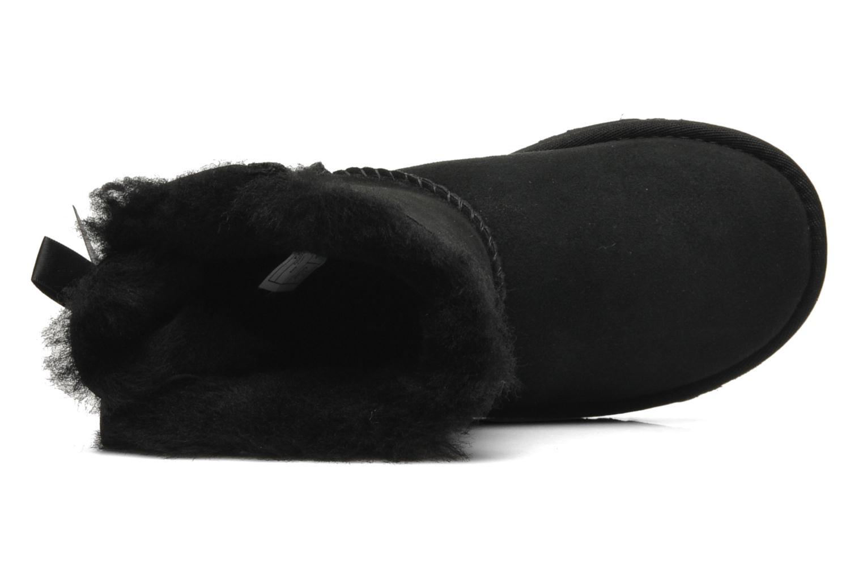 Bottes UGG Mini Bailey Bow Noir vue gauche