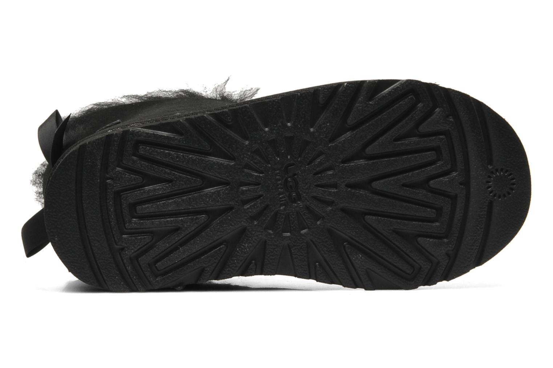 Bottes UGG Mini Bailey Bow Noir vue haut