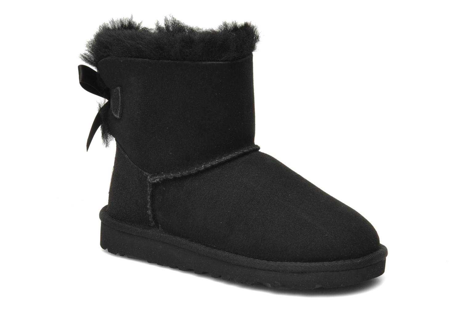 Laarzen UGG Mini Bailey Bow Zwart detail
