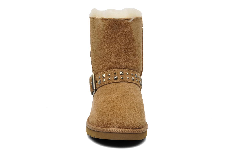 Stiefeletten & Boots UGG K Blaise Studs beige schuhe getragen