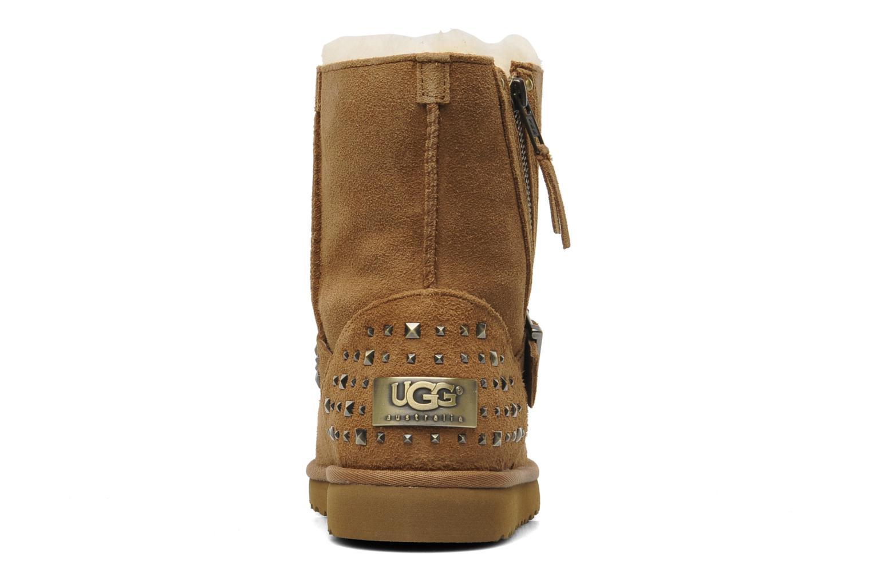Boots en enkellaarsjes UGG K Blaise Studs Beige rechts