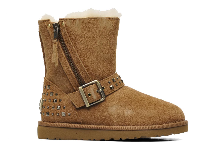 Stiefeletten & Boots UGG K Blaise Studs beige ansicht von hinten