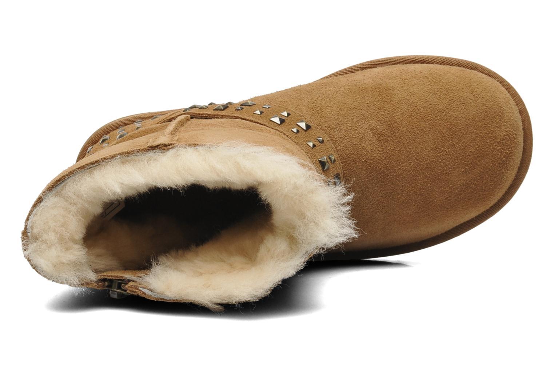 Stiefeletten & Boots UGG K Blaise Studs beige ansicht von links