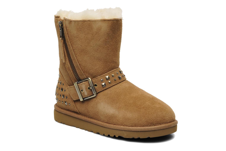 Stiefeletten & Boots UGG K Blaise Studs beige detaillierte ansicht/modell