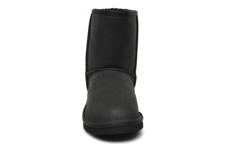 Laarzen UGG K Classic Short Leather Zwart model