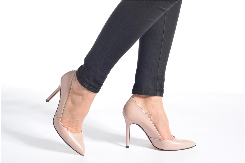 Zapatos de tacón Georgia Rose Fillotte Oro y bronce vista de abajo