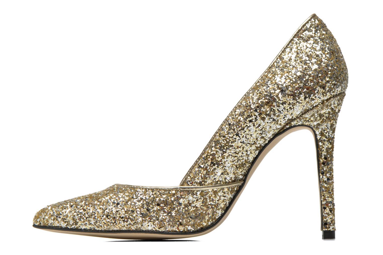 Zapatos de tacón Georgia Rose Fillotte Oro y bronce vista de frente
