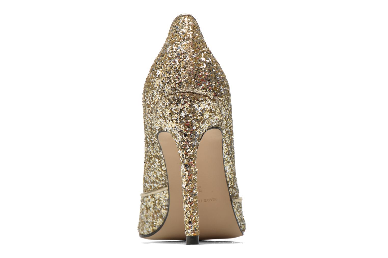 Zapatos de tacón Georgia Rose Fillotte Oro y bronce vista lateral derecha