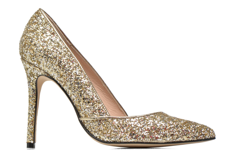 Zapatos de tacón Georgia Rose Fillotte Oro y bronce vistra trasera