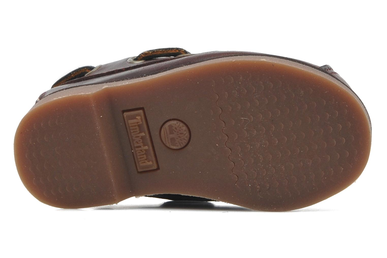 Chaussures à lacets Timberland PeakislL 2I Boat Marron vue haut