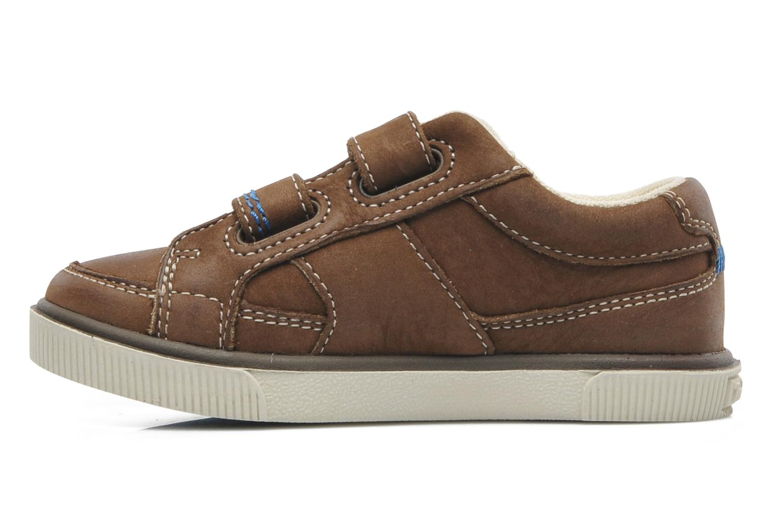 Sneakers Timberland Eastham H L LTHR OX Bruin voorkant
