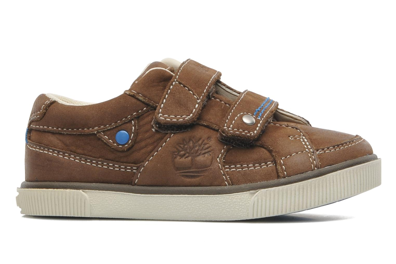 Sneakers Timberland Eastham H L LTHR OX Bruin achterkant