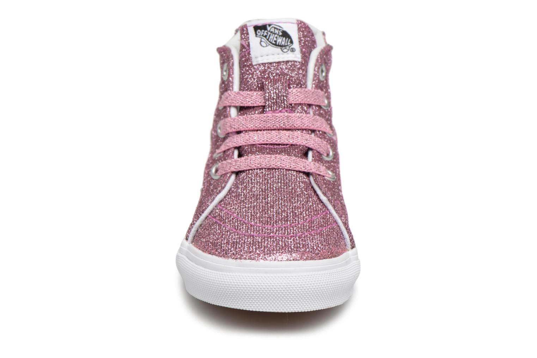 Pink BB Vans Hi SK8 Zip True White n88v4xwI