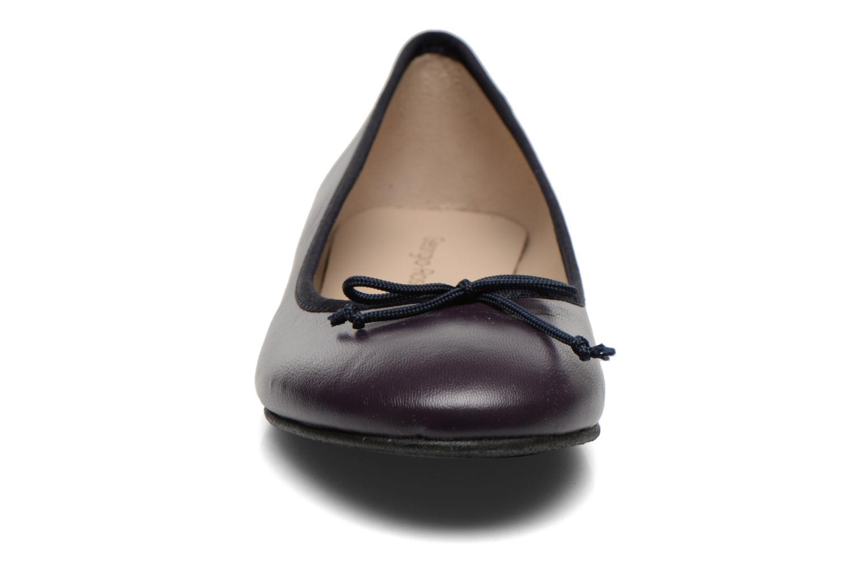 Ballerines Georgia Rose Zahara Violet vue portées chaussures