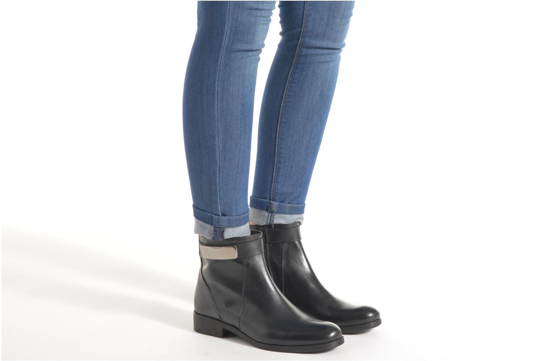Bottines et boots Elizabeth Stuart Cassey 391 Noir vue bas / vue portée sac