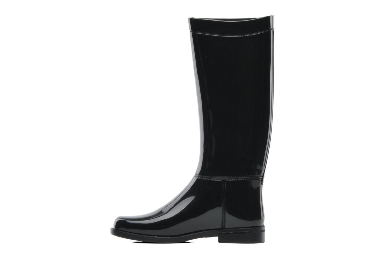 Boots & wellies Elizabeth Stuart Glasgow 395 Black front view