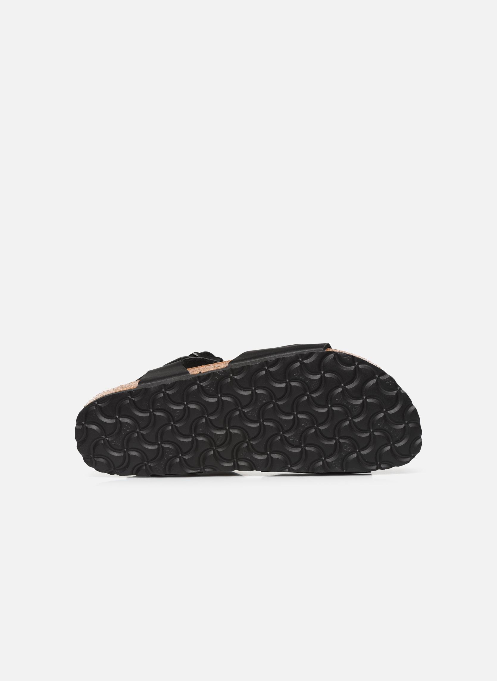 Sandals Birkenstock Rio Flor W Black view from above