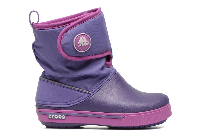 Boots & wellies Crocs Crocband II.5 Gust Boot Kids Purple back view