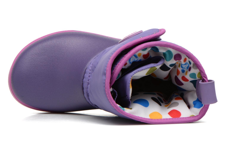 Stiefel Crocs Crocband II.5 Gust Boot Kids lila ansicht von links