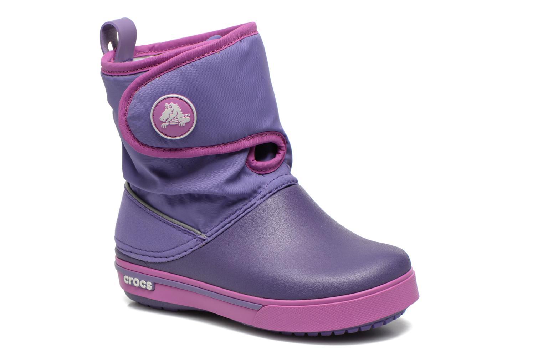 Boots & wellies Crocs Crocband II.5 Gust Boot Kids Purple detailed view/ Pair view
