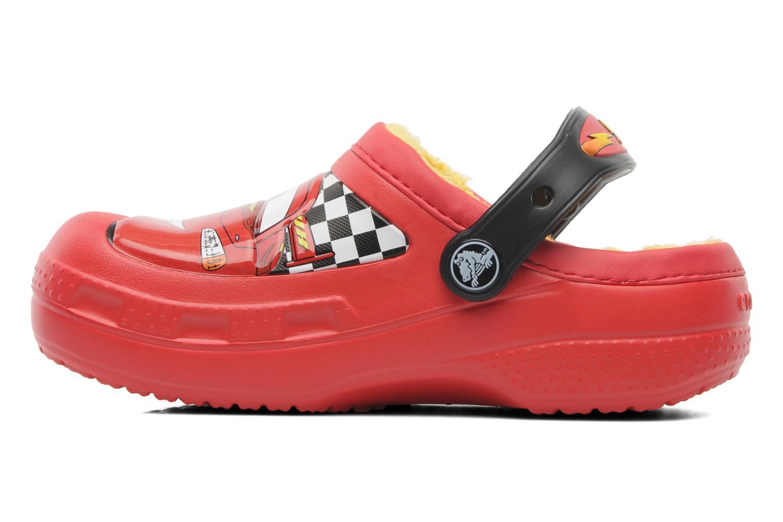 Sandales et nu-pieds Crocs CC McQueen Lined Clog Rouge vue face