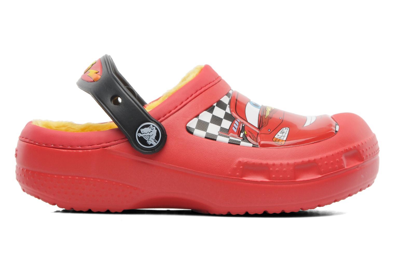 Sandales et nu-pieds Crocs CC McQueen Lined Clog Rouge vue derrière