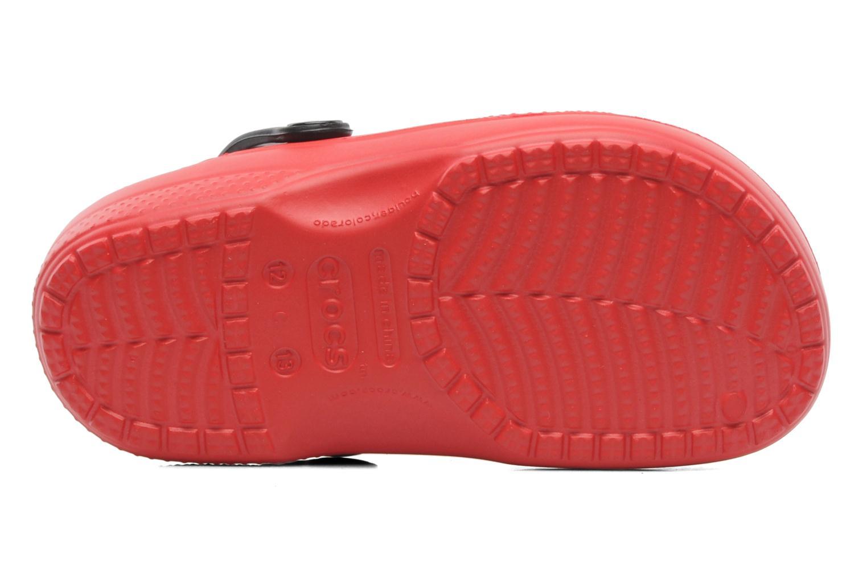 Sandales et nu-pieds Crocs CC McQueen Lined Clog Rouge vue haut
