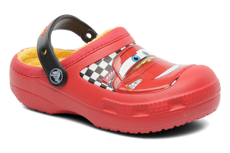 Sandales et nu-pieds Crocs CC McQueen Lined Clog Rouge vue détail/paire
