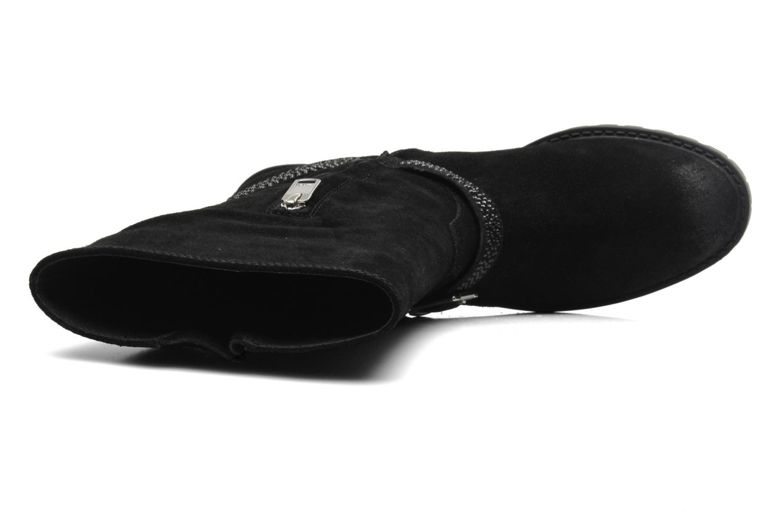 Bottines et boots Liu Jo Biker haut Clio Strass Noir vue gauche