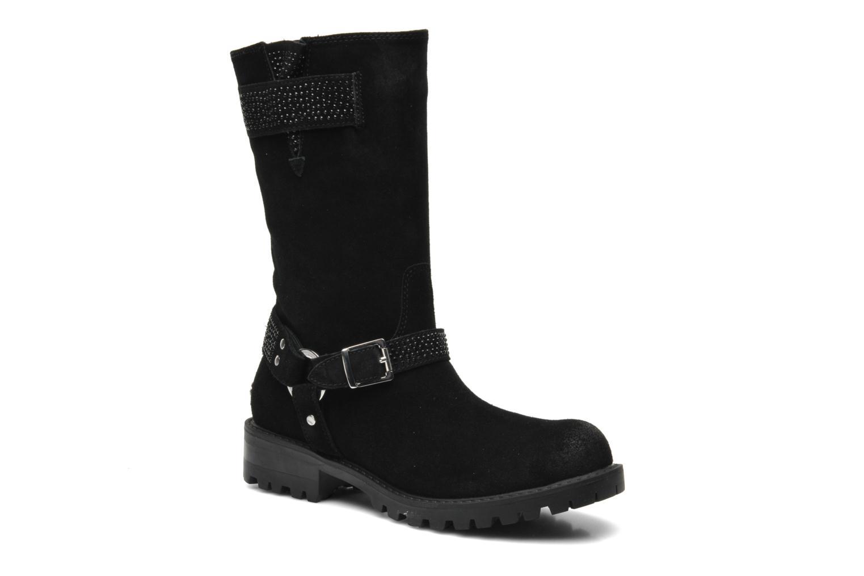 Bottines et boots Liu Jo Biker haut Clio Strass Noir vue détail/paire