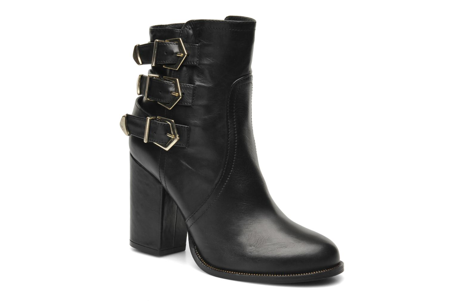 Ankle boots Sweet Lemon Poga Black detailed view/ Pair view