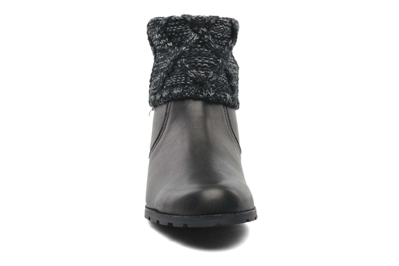 Bottines et boots Mellow Yellow Ray Noir vue portées chaussures