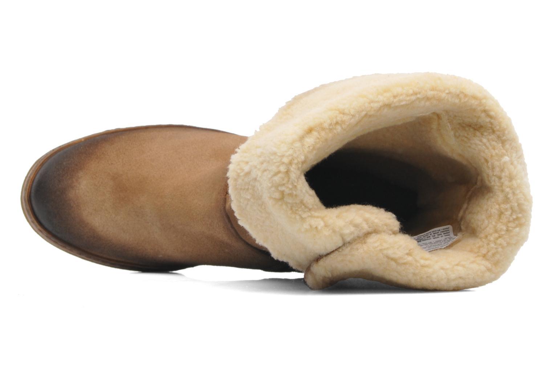 Stiefeletten & Boots Manas Joujou beige ansicht von links