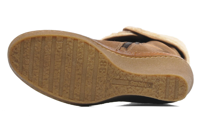 Boots en enkellaarsjes Manas Joujou Beige boven