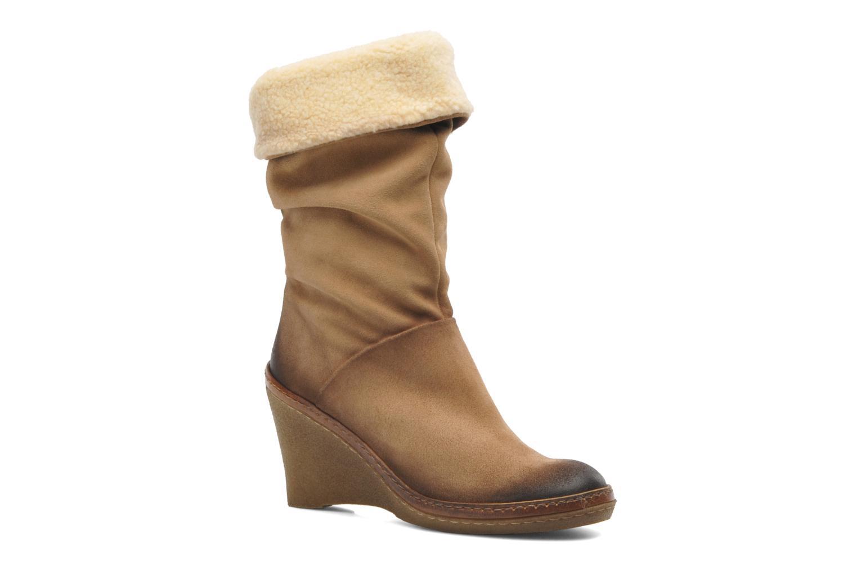 Boots en enkellaarsjes Manas Joujou Beige detail