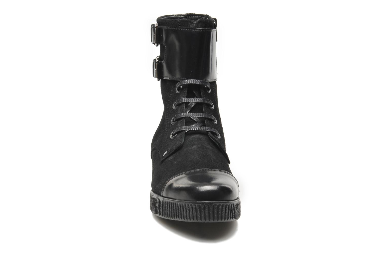 Bottines et boots Anaki Kate Noir vue portées chaussures
