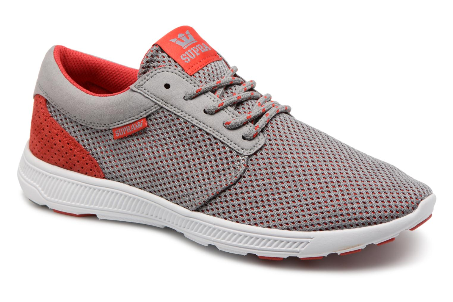 Marques Chaussure homme Supra homme Hammer Run GREY - RED-M