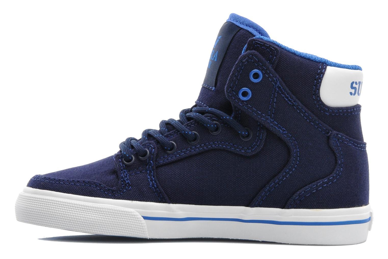 Sneakers Supra Vaider Kids Blå se forfra