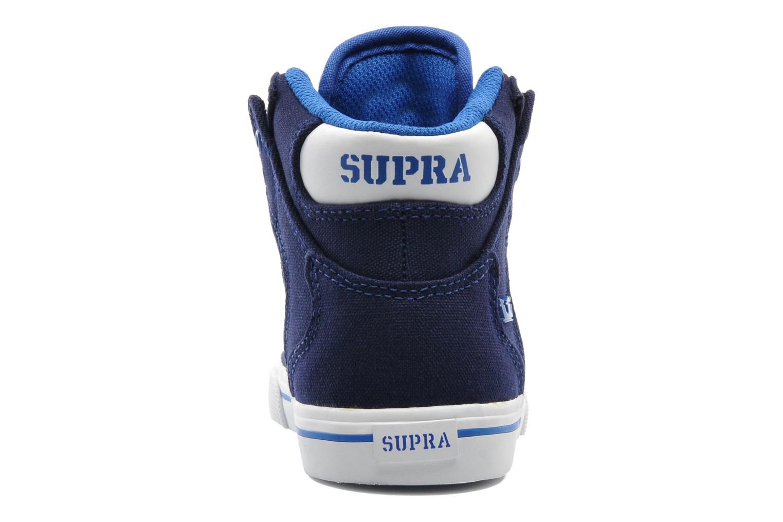 Sneakers Supra Vaider Kids Blå Se fra højre