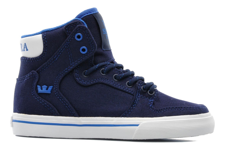 Sneakers Supra Vaider Kids Blå bild från baksidan