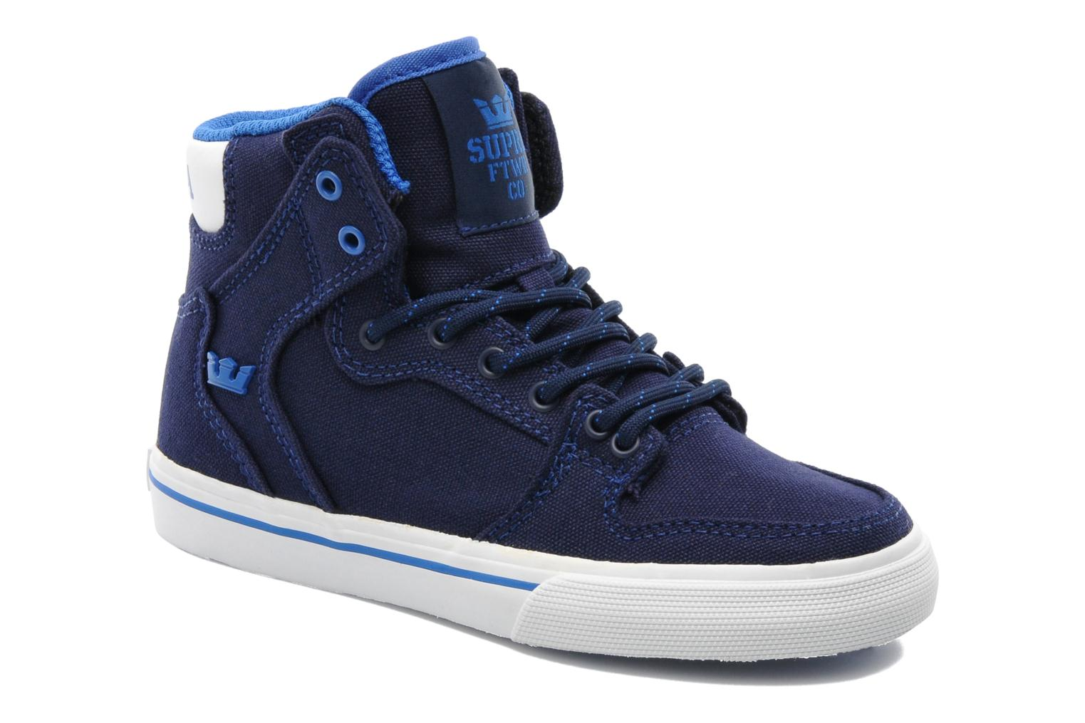 Trainers Supra Vaider Kids Blue detailed view/ Pair view