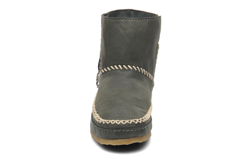 Bottines et boots Laidback London Piksi Gris vue portées chaussures