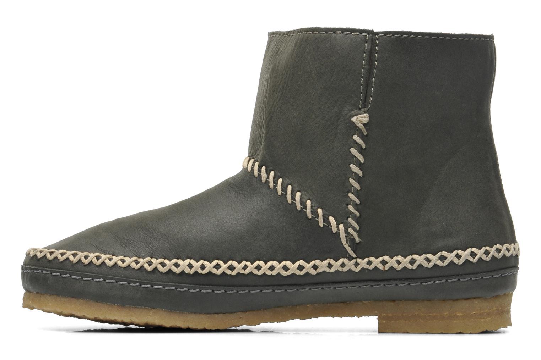 Bottines et boots Laidback London Piksi Gris vue face