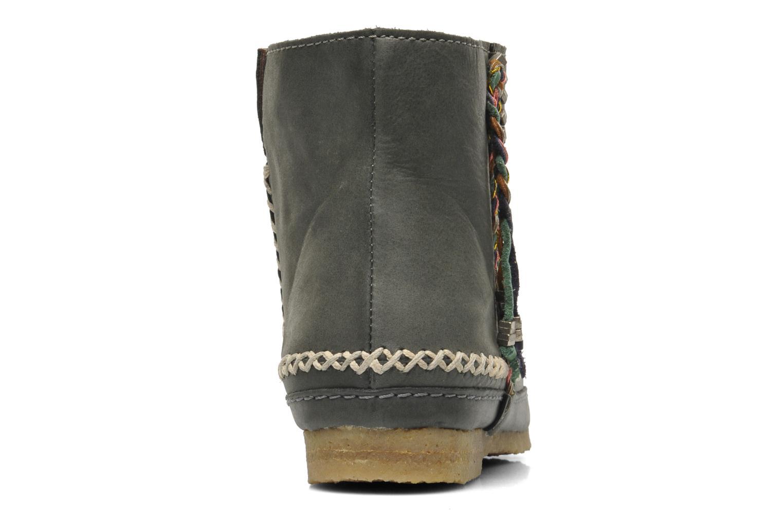 Bottines et boots Laidback London Piksi Gris vue droite