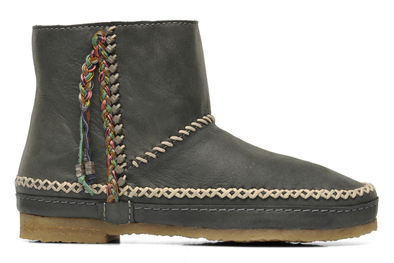 Bottines et boots Laidback London Piksi Gris vue derrière