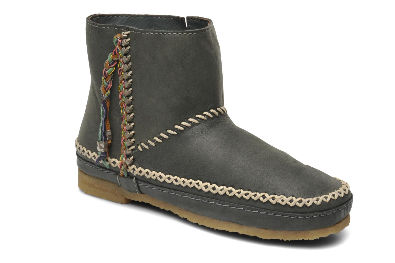Bottines et boots Laidback London Piksi Gris vue détail/paire