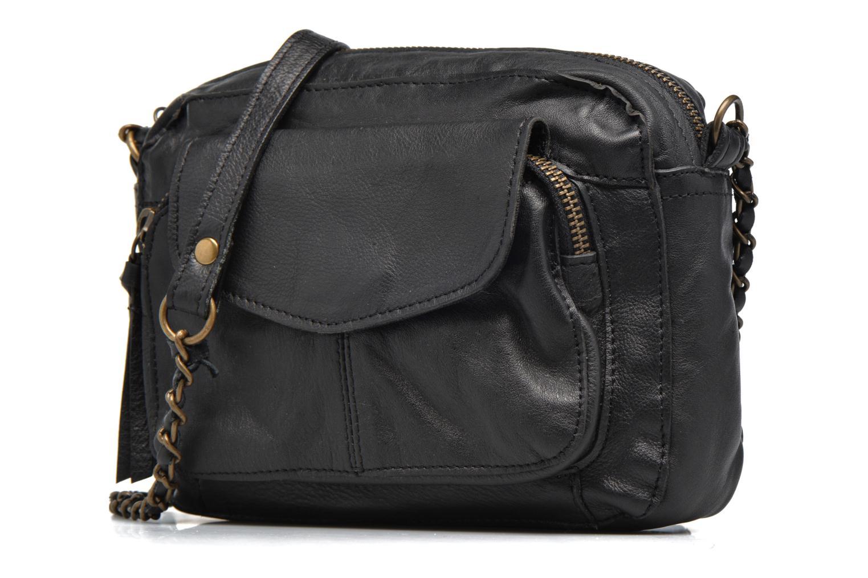 Handtassen Pieces Naina leather Crossover new Zwart model