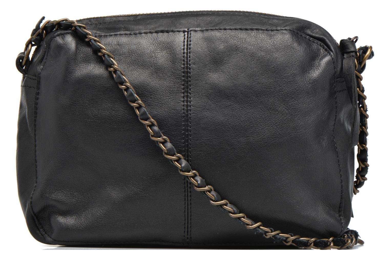 Handtassen Pieces Naina leather Crossover new Zwart voorkant